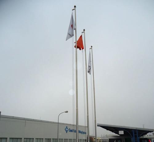 Cột cờ inox 05
