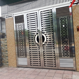 Cổng inox 35
